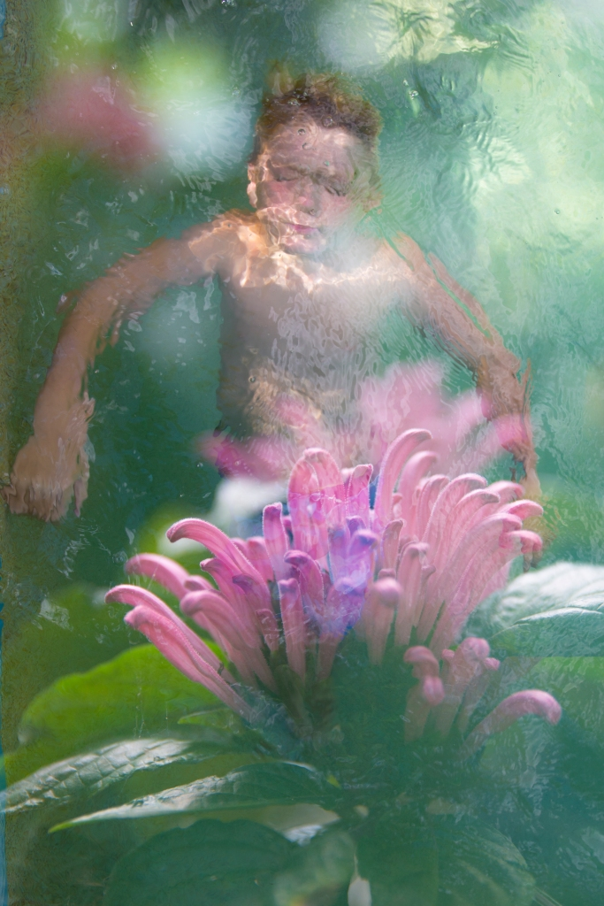 Swimming in the garden2 (1 of 2)